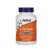 NOW L-Tyrosine 500mg 120 caps