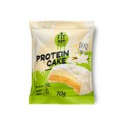 Fit Kit Protein WHITE cake 70g(24шт\кор)