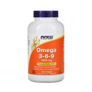 NOW Omega 3-6-9 250 softogel