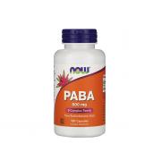 NOW PABA (B10) 500mg 100 caps
