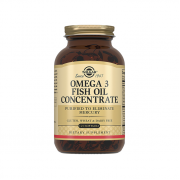 Solgar Fish Oil Concentrate Omega-3 120 softogel