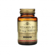 Solgar Vitamin D3 125mcg\5000IU 100 softogel