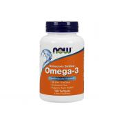 NOW Omega 3 Molecularly Distilled 100 softogel