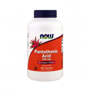 NOW Pantothenic Acid (B5) 500mg 250 caps