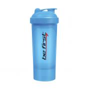 BeFirst Шейкер слим 350мл (синий)