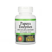 Natural Factors Papaya Enzymes 120 chewable tab