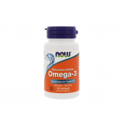 NOW Omega 3 Molecularly Distilled  30 softogel
