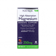 NATROL Magnesium 250mg 60 tab
