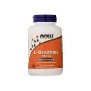 NOW L-Ornitihine 500mg 120 veg caps