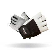 MADMAX Перчатки Fitness MFG444 (бело-черные)