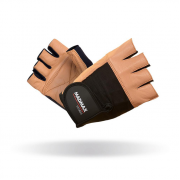 MADMAX Перчатки Fitness MFG444 (черно-коричневые)