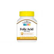 21St Century Foliс Acid (B9) 400mcg 250 tab