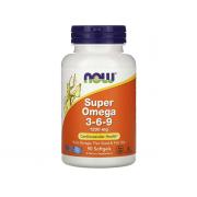 NOW Super Omega 3-6-9 90 softogel