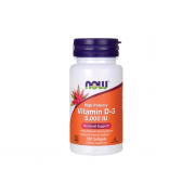 NOW Vitamin D3 5000IU 120 softogel