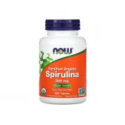 NOW Spirulina 500mg 200 tab