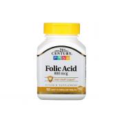 21St Century Foliс Acid (B9) 800mcg 180 tab