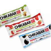 CHIKALAB CHIKABAR в белом шоколаде 60g (20шт\кор)